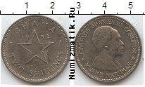 Каталог монет - монета  Гана 2 шиллинга