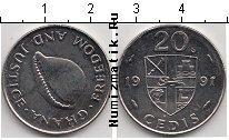 Каталог монет - монета  Гана 20 седи