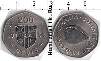 Каталог монет - монета  Гана 200 седи