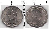 Каталог монет - монета  Гана 3 пенса