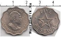 Каталог монет - монета  Гана 5 песев