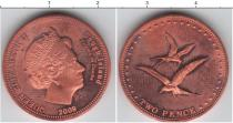Каталог монет - монета  Остров Гоф 2 пенса