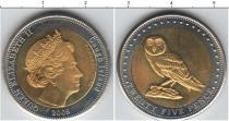 Каталог монет - монета  Остров Гоф 25 пенсов