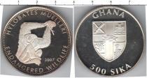 Каталог монет - монета  Гана 500 сика