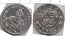 Каталог монет - монета  Либерия 5 долларов