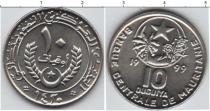 Каталог монет - монета  Мавритания 10 угия
