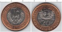 Каталог монет - монета  Мавритания 20 угия