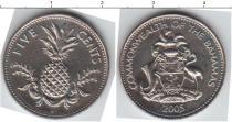 Каталог монет - монета  Барбадос 5 центов
