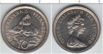 Каталог монет - монета  Фолклендские острова 10 центов