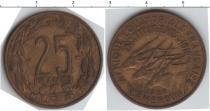 Каталог монет - монета  Камерун 25 франков