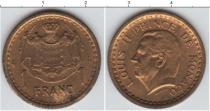 Каталог монет - монета  Монако 1 франк