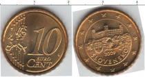 Каталог монет - монета  Словения 10 евроцентов