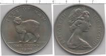 Каталог монет - монета  Остров Мэн 1 доллар