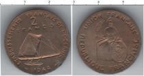 Каталог монет - монета  Океания 2 франка