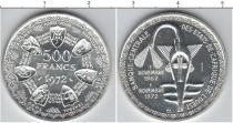 Каталог монет - монета  Французская Африка 500 франков
