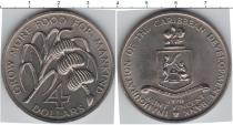 Каталог монет - монета  Сент-Винсент и Гренадины 4 доллара