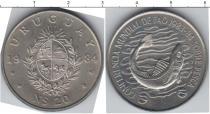 Каталог монет - монета  Уругвай 20 песо