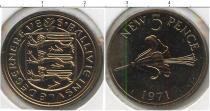 Каталог монет - монета  Гернси 5 пенсов
