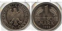 Каталог монет - монета  ФРГ 1 марка