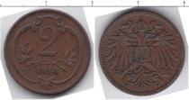 Каталог монет - монета  Австро-Венгрия 2 хеллера