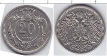 Каталог монет - монета  Австро-Венгрия 20 хеллеров