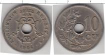 Каталог монет - монета  Бельгия 10 сентим