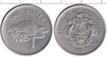 Каталог монет - монета  Сейшелы 1 рупия