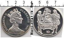 Каталог монет - монета  Барбадос 10 долларов