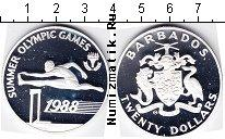 Каталог монет - монета  Барбадос 20 долларов