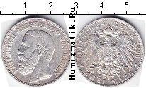 Каталог монет - монета  Баден 2 марки
