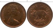 Каталог монет - монета  Бермудские острова 1 пенни