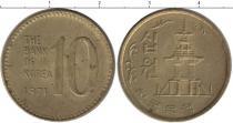 Каталог монет - монета  Корея 10 вон