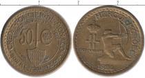 Каталог монет - монета  Монако 50 сантим