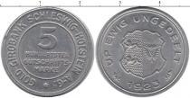 Каталог монет - монета  Шлезвиг-Гольштейн 5/100 кредитных марок