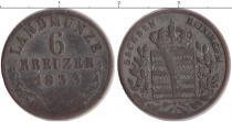 Каталог монет - монета  Саксен-Майнинген 6 крейцеров