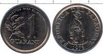 Каталог монет - монета  Парагвай 1 гуарани