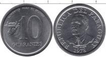 Каталог монет - монета  Парагвай 10 гуарани