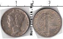 Каталог монет - монета  США 10 центов