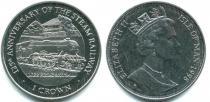 Каталог монет - монета  Остров Мэн 1 крона