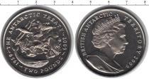 Каталог монет - монета  Антарктида 2 фунта