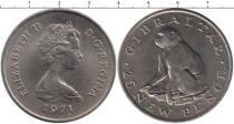 Каталог монет - монета  Гибралтар 25 пенсов