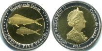 Каталог монет - монета  Соловьиные острова 25 пенсов