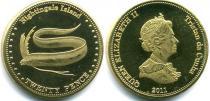 Каталог монет - монета  Соловьиные острова 20 пенсов