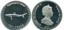 Каталог монет - монета  Соловьиные острова 10 пенсов
