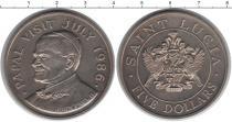 Каталог монет - монета  Сент-Люсия 5 долларов