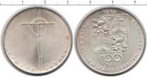 Каталог монет - монета  Чехия 100 крон