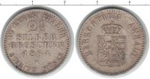 Каталог монет - монета  Анхальт-Бернбург 2 1/2 гроша