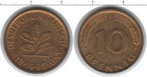 Каталог монет - монета  ФРГ 10 пфеннигов