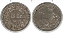 Каталог монет - монета  Швейцария 2 франка