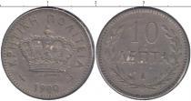 Каталог монет - монета  Крит 10 лепт